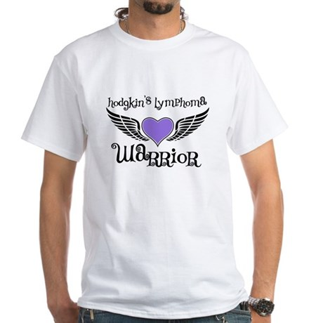 HodgkinsWarriorFighterWings White T-Shirt