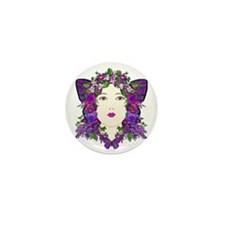 Persephone Mini Button
