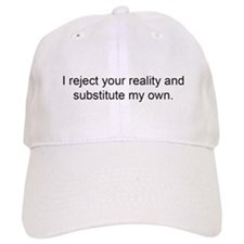 Reject Reality Baseball Cap