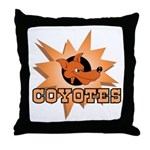 Coyotes Team Throw Pillow