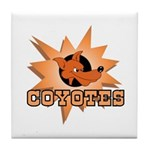 Coyotes Team Tile Coaster
