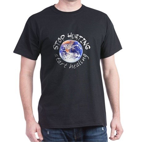 Start Healing the World Black T-Shirt