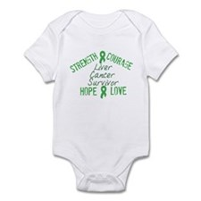 Liver Inspirational Survivor Infant Bodysuit
