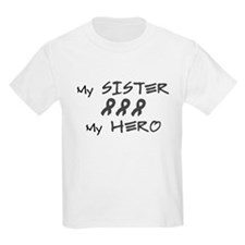 Hero Sister Gray T-Shirt