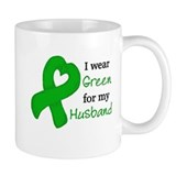 I WEAR GREEN for my Husband Mug
