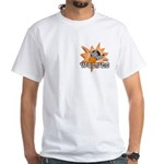 Wolves Basketball Team White T-Shirt