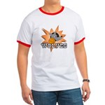 Wolves Basketball Team Ringer T