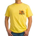 Wolves Basketball Team Yellow T-Shirt