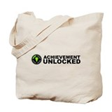 Achievement Unlocked Tote Bag