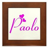 Paolo Framed Tile