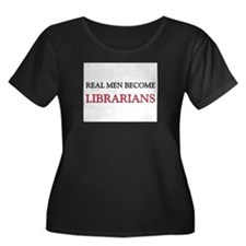 Real Men Become Librarians Women's Plus Size Scoop