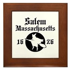 Salem Massachusetts Framed Tile