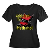 Addicted to Methanol Women's Plus Size Scoop Neck