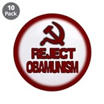 "Reject Obamunism 3.5"" Button (10 pack)"