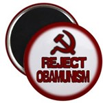 "Reject Obamunism 2.25"" Magnet (100 pack)"