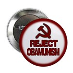 "Reject Obamunism 2.25"" Button (100 pack)"