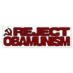 Reject Obamunism Bumper Sticker (50 pk)