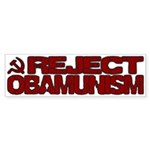 Reject Obamunism Bumper Sticker