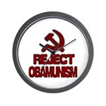 Reject Obamunism Wall Clock