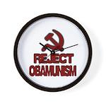 Reject Obamunism Wall Clock