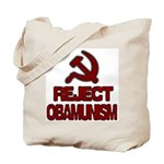 Reject Obamunism Tote Bag