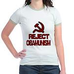 Reject Obamunism Jr. Ringer T-Shirt