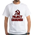Reject Obamunism White T-Shirt