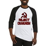 Reject Obamunism Baseball Jersey
