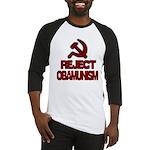 Reject Obamunism Baseball Jersey
