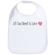 All You Need is Love Bib