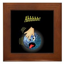 Frantic Bowling Ball Framed Tile