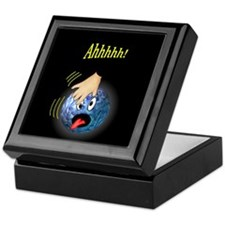 Frantic Bowling Ball Keepsake Box