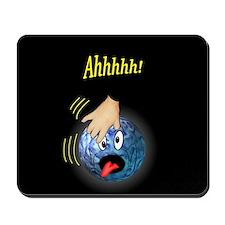 Frantic Bowling Ball Mousepad