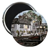 "George and Dragon Pub Restaur 2.25"" Magnet (10 pac"