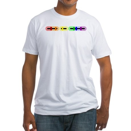 Gay Morse Bar Fitted T-Shirt