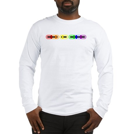 Gay Morse Bar Long Sleeve T-Shirt