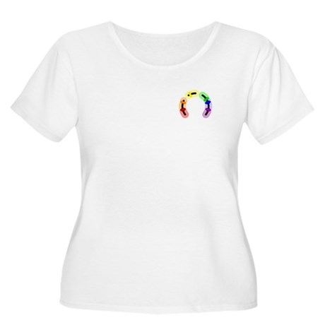 Gay Pocket Morse Women's Plus Size Scoop Neck T-Sh