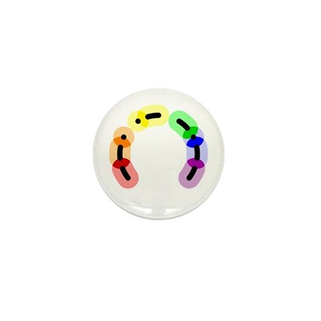 Gay Morse Arc Mini Button (10 pack)