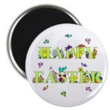 """Happy Easter"" 2.25"" Magnet (10 pac"