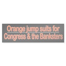 Orange Jump Suits for Congress & the Banksters