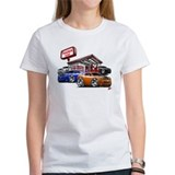 Dodge Challenger Gas Station Scene Tee