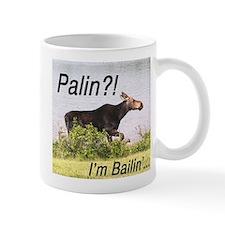 Cute Anti palin moose Mug