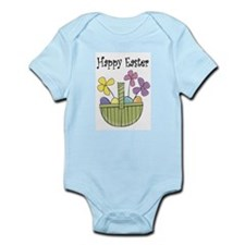 Country Easter basket Infant Bodysuit