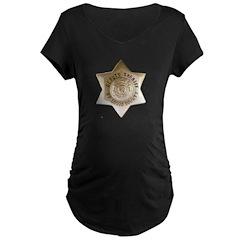 Saint Louis Sheriff Maternity Dark T-Shirt