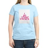 I do those parties! Women's Pink T-Shirt
