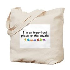 Im An Important Piece To The Puzzle Tote Bag