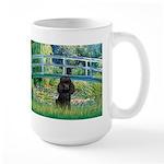 Bridge / Poodle (Black) Large Mug