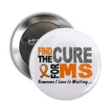 "Find The Cure 1 MS 2.25"" Button"