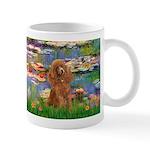 Lilies / Poodle (Apricot) Mug