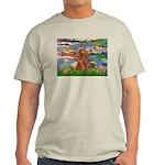 Lilies / Poodle (Apricot) Light T-Shirt